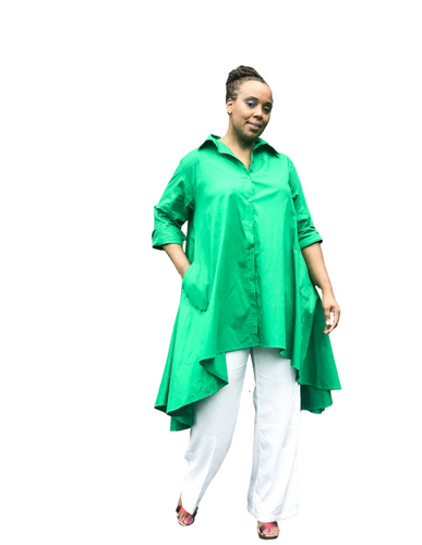 Fashions by RoPuddles Green tunic dress