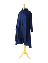 navy hilo tunic dress
