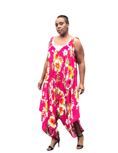 Fashions by RoPuddles floral jumpsuit