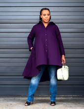 fashions by ropuddles purple hilo tunic dress