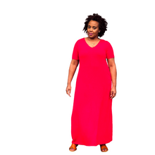 Fashions by RoPuddles Red Maxi Dress