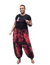 'Relax and Chill' Floral Ankle Pant