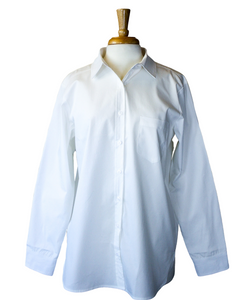 Fashions by RoPuddles White Cotton Shirt