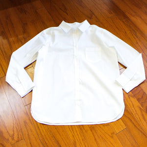 Fashions by RoPuddles White Button Up Shirt