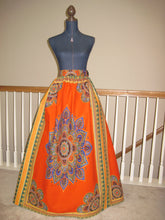 Excellent Quality African Dashiki Print Maxi Skirt
