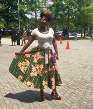 The RoPuddles Wrap Circle Skirt