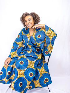 Top Quality African Print Dress