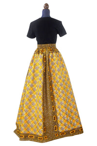 The RoPuddles HiLo Maxi Skirt