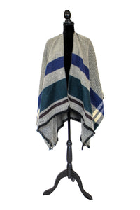 'In the Fringes' Wrap Poncho