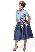 Custom Made Denim Skirt