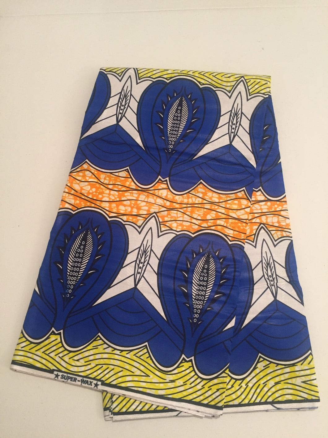 African Print - Bold Cowry Shells