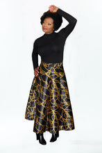 'Looks Like Gold' Midi Skirt
