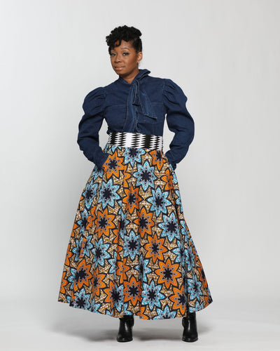 Fashions by Ropuddles Custom Made Skirt