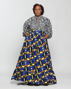 Fashions by Ropuddles Custom Made Maxi Skirt