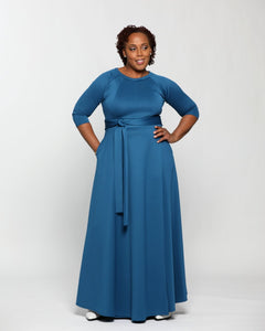 Fashions by RoPuddles maxi dress with long sleeves