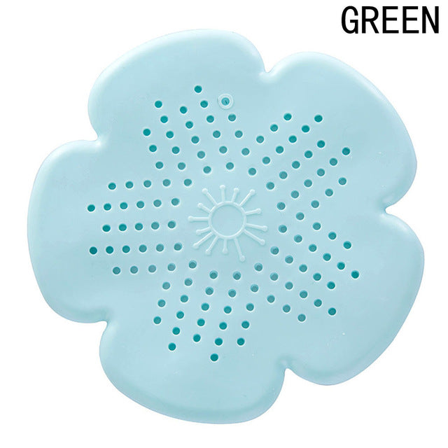 Silicone Sink Drain Filter Bathtub Hair Catcher Stopper Shower Drain Hole Filter