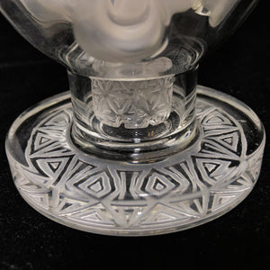 Faberge Sphere Egg - Clear/Sandblasted