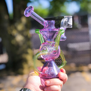 Wormhole Recycler (CFL Purple/Green)