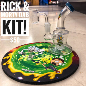Rick & Morty Dab Kit