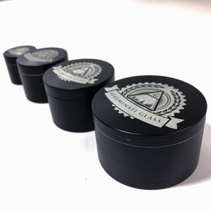 Illuminati Grinder Black Alloy HQ