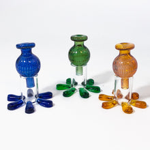 Glass Carb Cap Stands (carb cap not included)
