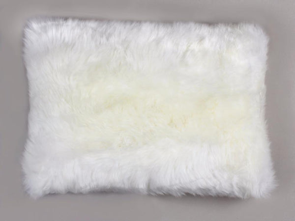 Sheepskin Long Wool Cushion Auskin - 40 x 60cm - Furry Sheepskin