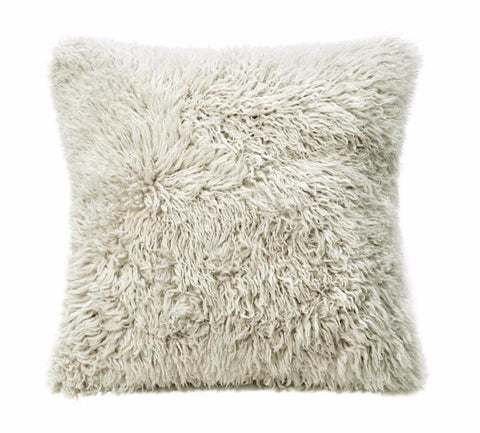 Sheepskin Curly Wool Cushion Auskin - 56 x 56cm - Furry Sheepskin