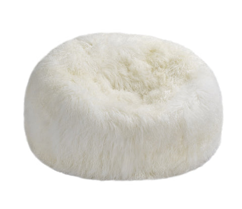 Tibetan Lambskin Beanbag Filled Auskin - large - Furry Sheepskin