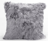 Alpaca Fleece Cushion Auskin - 50 x 50cm - Furry Sheepskin