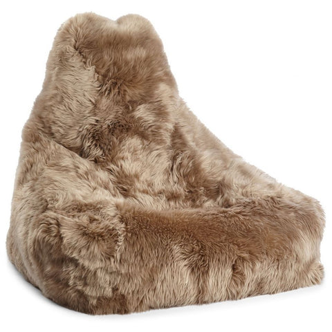New Zealand Sheepskin Beanbag Natures Collection - 100 x 100 x 80cm