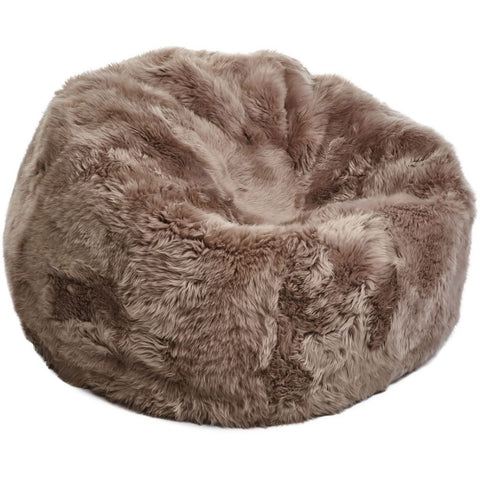 New Zealand Sheepskin Bean Bag Natures Collection - 92 x 93cm