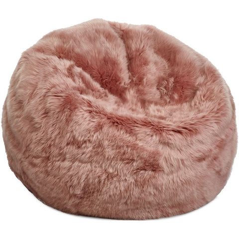 New Zealand Sheepskin Bean Bag Natures Collection - 73 x 74cm