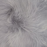 Sheepskin Pouffe Grey (unfilled) Hide of Excellence - Furry Sheepskin