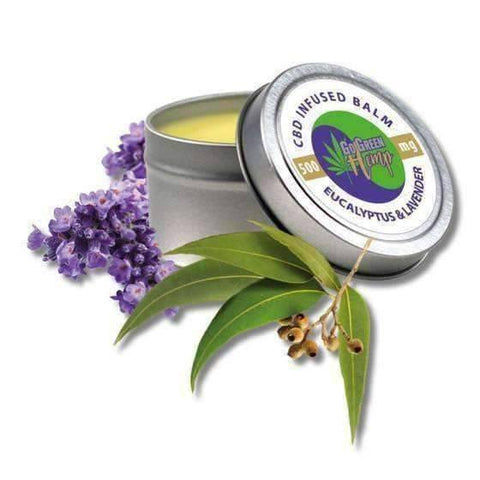 GoGreen Hemp CBD Balm Salve