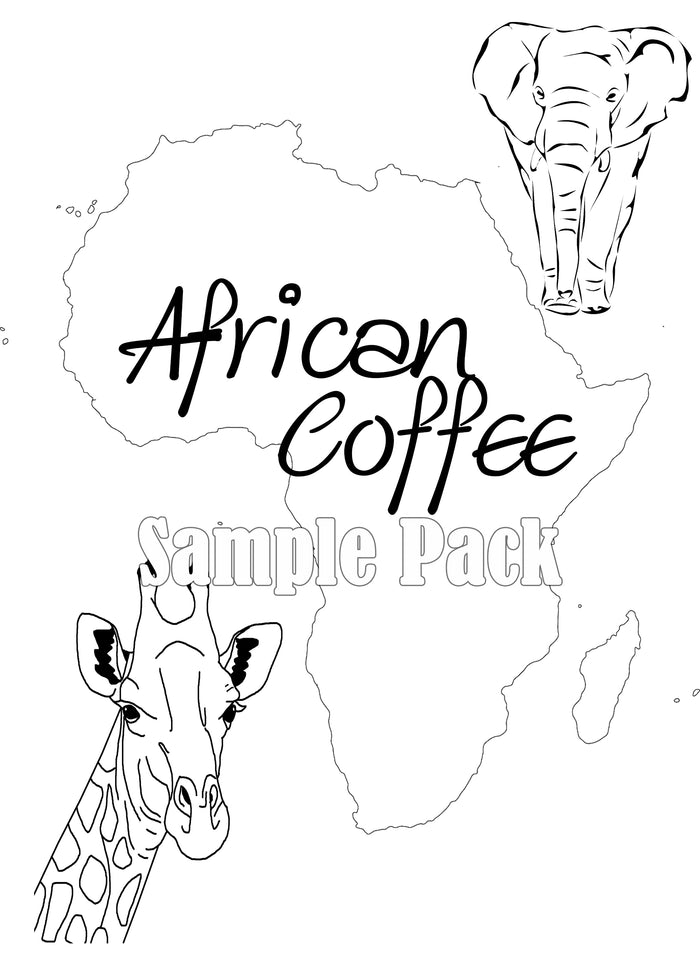 African Coffee Sample Pack