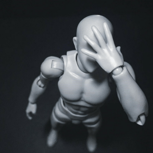 Body Kun Gris - S.H. Figuarts DX Set - body kun body chan - Bodykun Revolution
