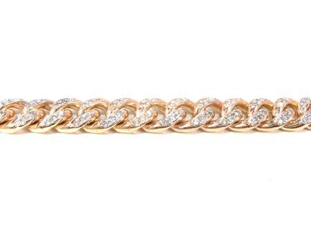10K Gold Diamond Miami Link Chain 28 Inches 8mm 123.7 Grams 8.50ct