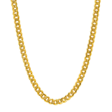 14k Gold Plated Cuban Link Chain 6mm - ShopVVS