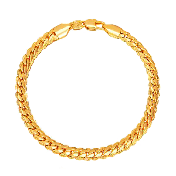 6mm  Cuban Link Bracelet 8.3