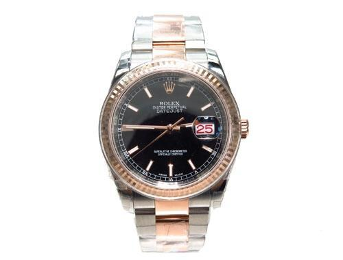Rolex Datejust Rose Gold and Steel 116261 - ShopVVS