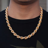 Iced out Rope Chain - ShopVVS