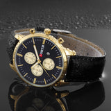 Luxury Watch For Men with Leather Strap - ShopVVS