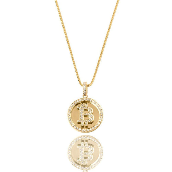 Bitcoin Necklace - ShopVVS