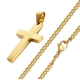Cross Necklaces & Pendants Stainless Steel - ShopVVS