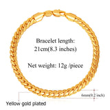 "6mm  Cuban Link Bracelet 8.3"" - ShopVVS"