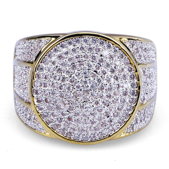 Gold Plated Micro Pave CZ - ShopVVS