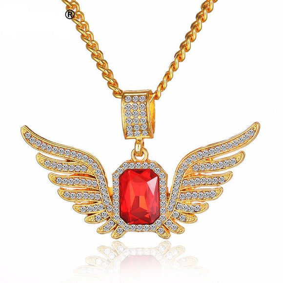 Iced out Ruby and Wings - ShopVVS