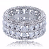 Eternity Ring Multi Row 12mm