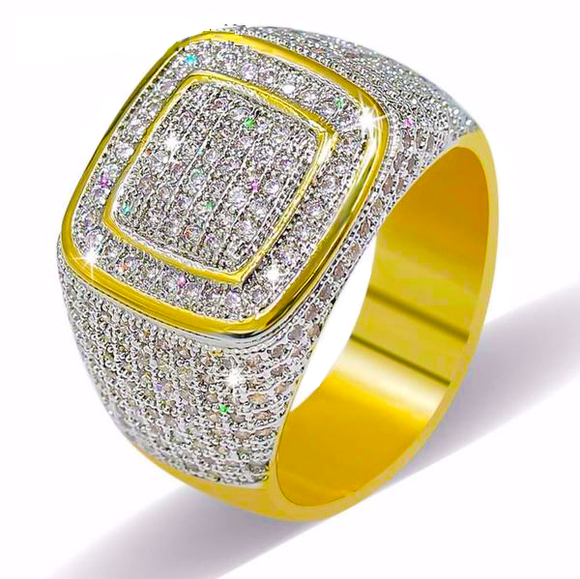 Iced Out High Quality Micro Pave CZ Ring - ShopVVS