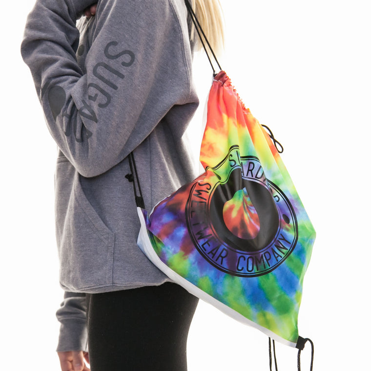Sugardrop Tie Dye Cinch Sack